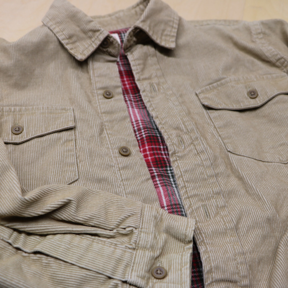 Canyon River Blues Other - Boys CRB 10/12 Corduroy Tan Long Sleeve Button up